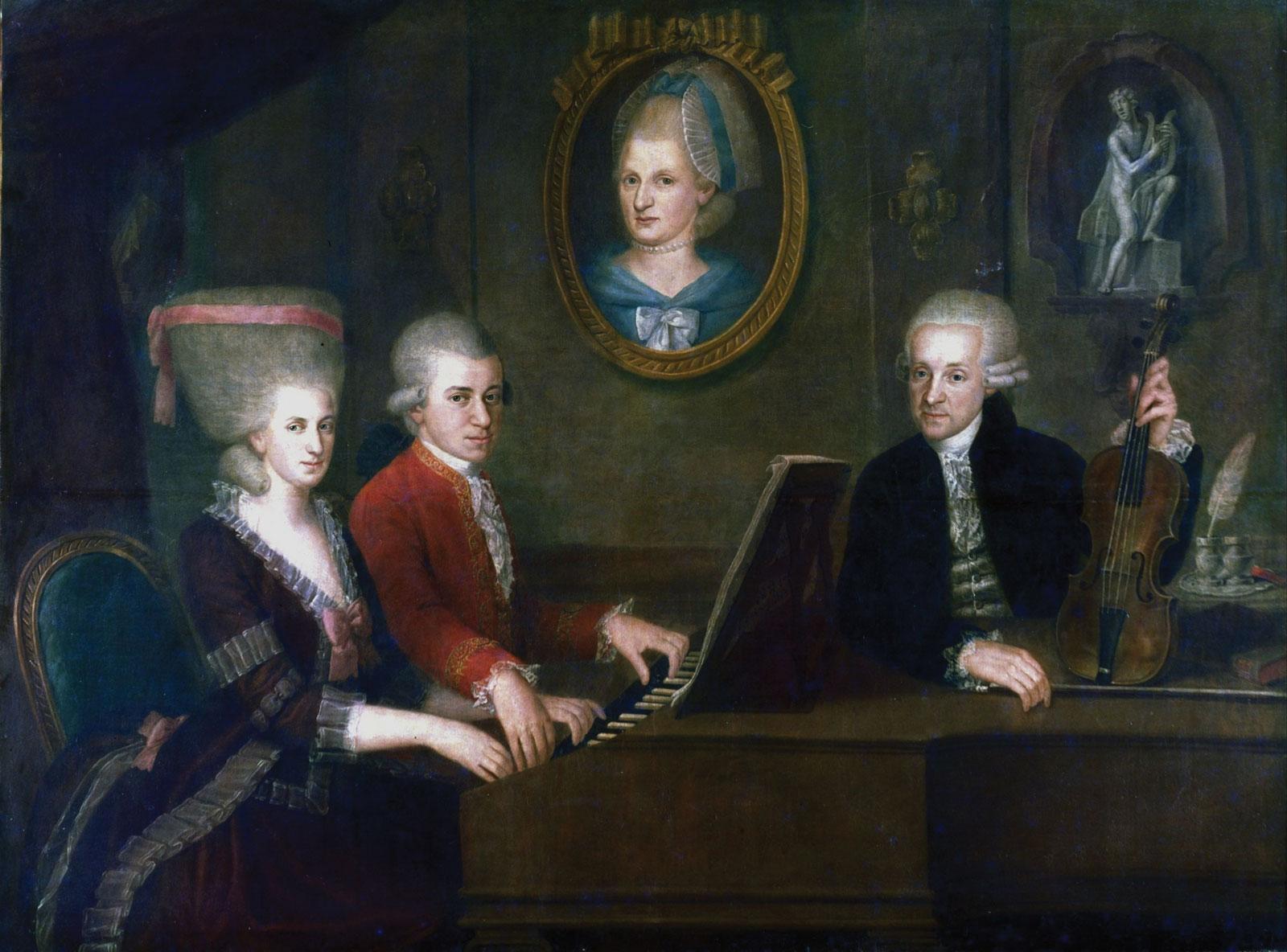 Johann Chrysostom Wolfgang Amadeus Mozart